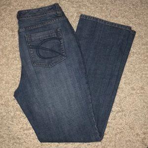 Chico's Platinum Jeans Stretch Mom Jeans Size 0.5